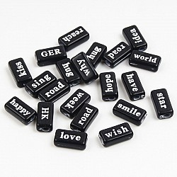 Black Word Tiles (Pack of 50 tiles)