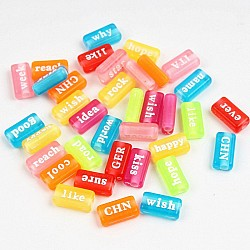 Coloured Word Tiles (Pack of 50 tiles)