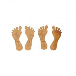 CrafTangles MDF Cuts - Laxmiji Feet