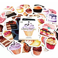 Cupcakes Stickers or Ephemera (40 pcs)
