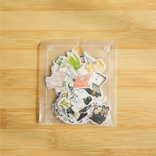 Fashion Stickers or Ephemera (20 pcs)