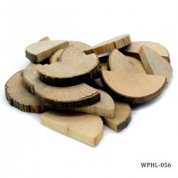 Natural Oval Wood Plate Medium 20pcs (WPHL-056)