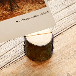 Natural Wooden Holder (4 pcs)