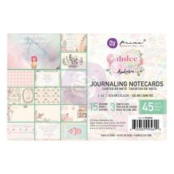 Prima Dulce By Frank Garcia Journaling Cards 4X6 45/Pkg