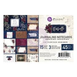 "Prima Darcelle Journaling Cards 4""X6"" 45/Pkg"
