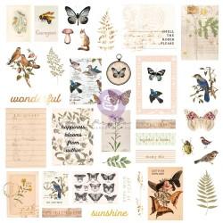 Prima Nature Lover Cardstock Ephemera 38/Pkg