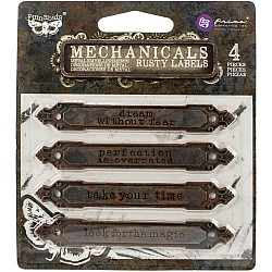 Prima Marketing Finnabair Mechanicals Metal Embellishments