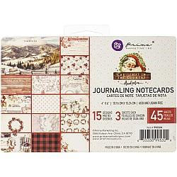 Prima 4 by 6 journalling cards - Christmas In The Country