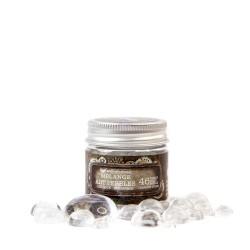 Finnabair Art Ingredients Melange Art Pebbles - Assorted Size 46/Pkg