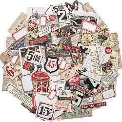 Tim Holtz Idealogy Ephemera Pack - Snippets Tiny Die cuts (111/pkg)