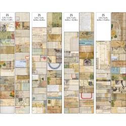 Tim Holtz Idealogy Journal Cards 100/Pkg