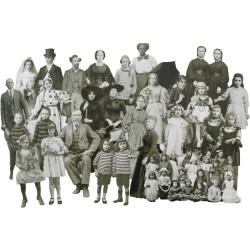 Tim Holtz Idealogy Paper Dolls Die-Cuts 23/Pkg - Halloween