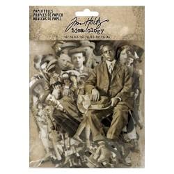 Tim Holtz Idealogy Paper Dolls Die-Cuts 107/Pkg