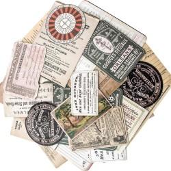 Tim Holtz Idealogy Layers Cards 33/Pkg - Collector