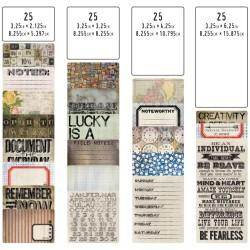 Tim Holtz Idealogy Pocket Cards 100/Pkg