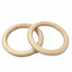 Natural Wooden rings / napkin rings 13 cm - Single piece