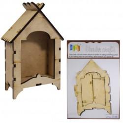 DIY assembled Wooden House