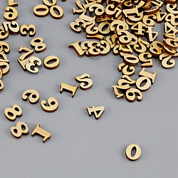 Wooden Numbers (100 pcs)