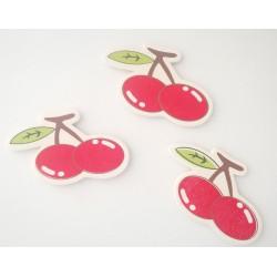 Wooden Die Cuts - Cherries (Pack of 5)