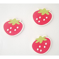 Wooden Die Cuts - Strawberries (Pack of 5)