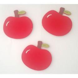 Wooden Die Cuts - Apples (Pack of 5)