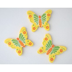 Wooden Die Cuts - Butterflies (Pack of 5)