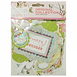 EnoGreeting Die Cut Pack (25 pcs) - Design 2
