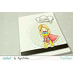 CrafTangles Photopolymer Stamps - SuperGirls