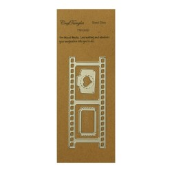 CrafTangles Steel Dies - Filmstrip (Set of 3 dies)