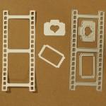 CrafTangles Steel Dies - Filmstrip (Set of 3 dies)
