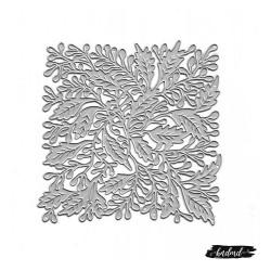 Steel Background Dies - Doodled flower Grid