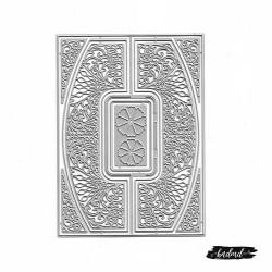 Steel Background Dies - Floral (Set of 8 dies) (XY079)