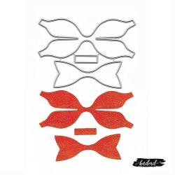 Steel Dies - Ribbon or Bow Makers (Set of 3 dies)