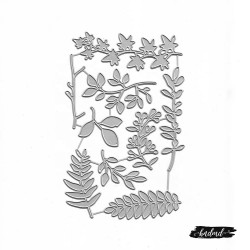 Steel Dies - Various types of Leaves (Set of 9 dies)