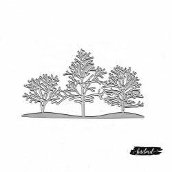 Steel Dies - Cluster of Trees