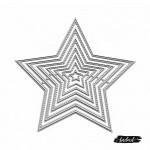 Dies - Stitched Stars (Set of 8 dies)