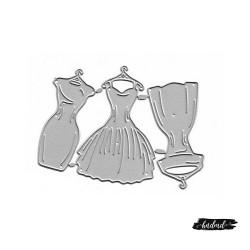 Steel Dies - Dresses (Set of 3 dies)