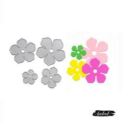 Steel Cutting Dies - Flowers (4 pcs)