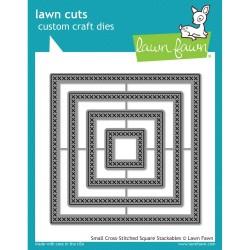 Lawn Cuts Craft Dies - Small Cross Stitched Square