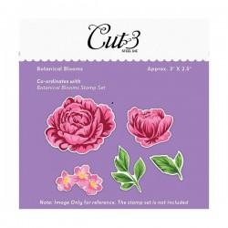 Mudra Dies - Botanical Blooms (Coordinates with Botanical Bloom Stamp)