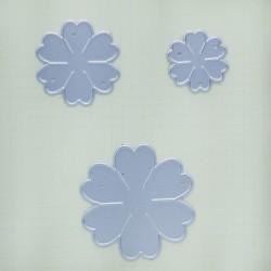 Steel Dies - 6 petal fancy flowers