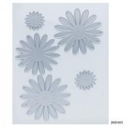 Steel Dies - 3 petal wavy flowers for flowermaking