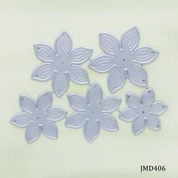 Steel Dies - Flower Dies (Set of 5 dies)