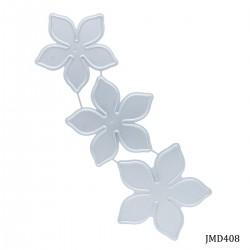 Steel Dies - 5 petal poinsettia flowers for flowermaking