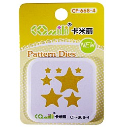 Patterned Dies (Small) - Multiple Stars