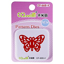 Patterned Dies (Small) - Butterfly Design 3
