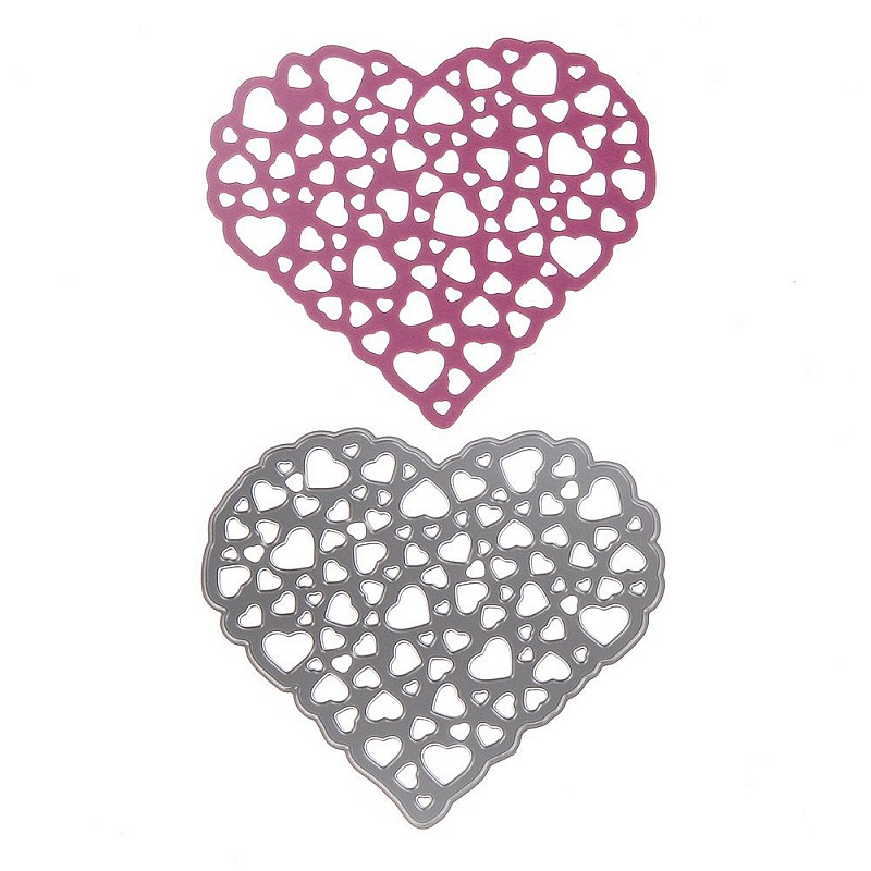 Buy Steel Dies Hearts Within Heart Online In India At
