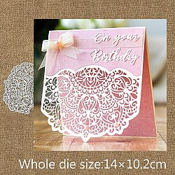 Steel Dies - Wedding Invitation flap die (Set of 2 dies)