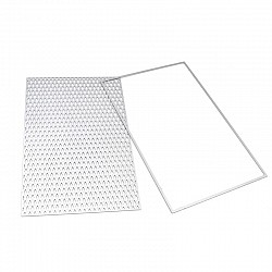 Steel Background Dies - Diamond Grid (Set of 2 dies)