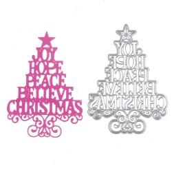Steel Dies - Christmas Tree